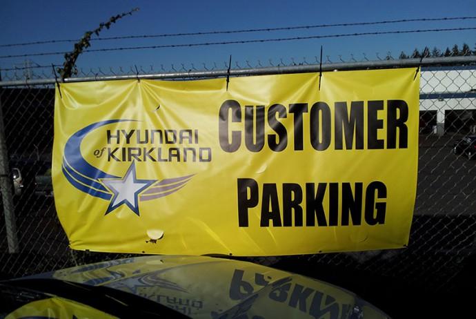 Custom Printed Banner