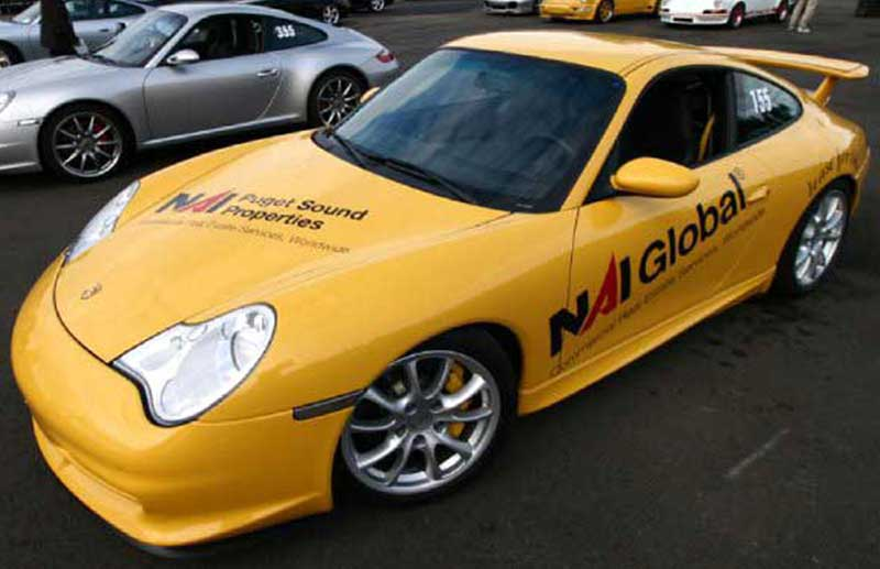 Custom Porsche Vehcile Graphics