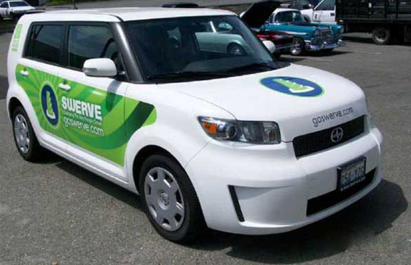 Wrap on Scion xB