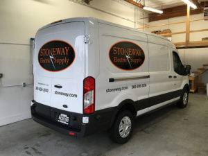 Vehicle Graphics for Stoneway Electric