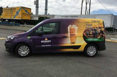 Full Wrap on Ford Transit Connect